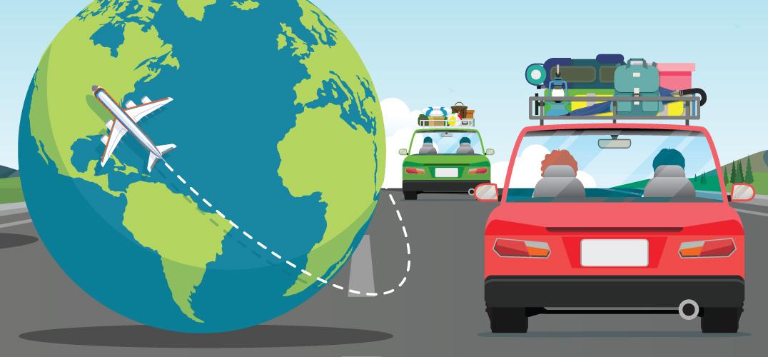Air vs. Car Travel